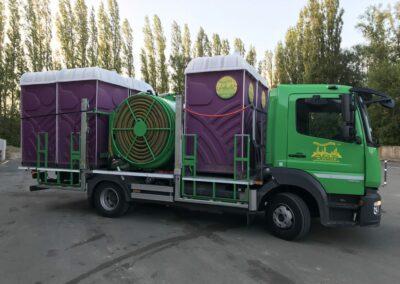 reinigingswagen