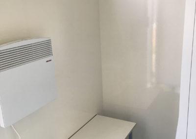 Mobiele badkamer - Verwarmde mobiele badkamer